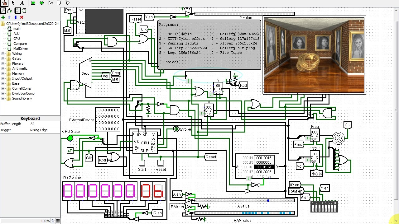 Using My Even More Improved Cpu In A Full Fledged Computer Via Here Is Logicsim Circuit File Implementing Adder Click Logisim