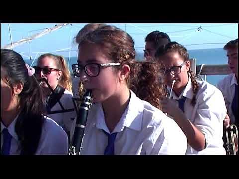"""Trabocco  """"Punta Tufaro"""" Concerto della banda musicale parrocchiale di S.Vito"""