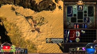 Path of Exile Gameplay - First Look HD