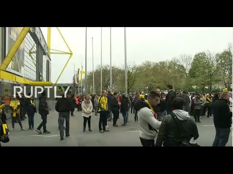 LIVE from Westfalenstadion as Borussia Dortmund ready for Monaco match after attack