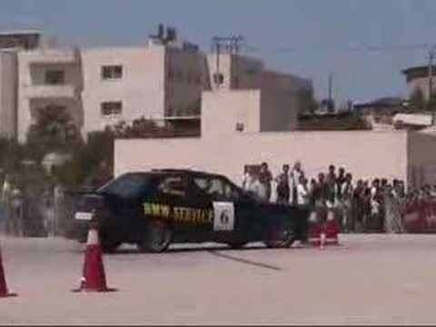 Joe Handal Palestine autocross car race bmw e30 M3