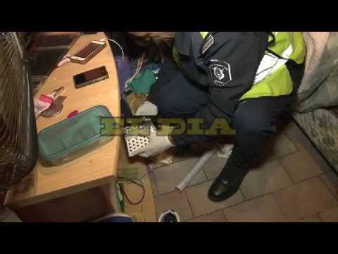 """Allanaron el """"shopping del paco"""" en Villa Puerta de Hierro"""