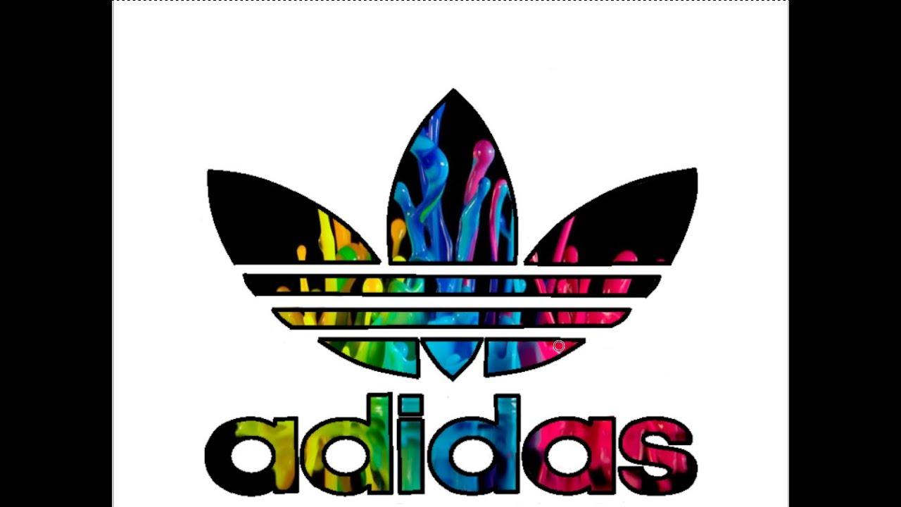 Adidas Logo Remake Speed Art 1 Youtube