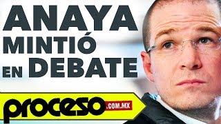 ¡revistas Confirman Mentiras De Ricardo Anaya En El Primer Debate! - Cae Farsa