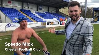 The Offside Trust vs Hollyoaks XI celebrity match at Chester Football Club 31/03/2019