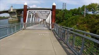 Mountain Biking Portland Oregon - Springwater Corridor Trail - Part II -  August 10, 2013