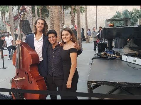 LACMA Samantha Quevedo With The Los Angeles Jazz Society