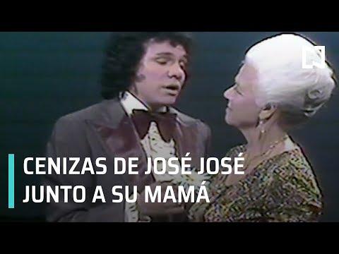 Cenizas de José José descansarán junto a la tumba de su mamá - A las Tres