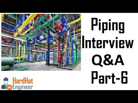 Piping Interview Questions Part-6 (Gaskets Types and Used) -