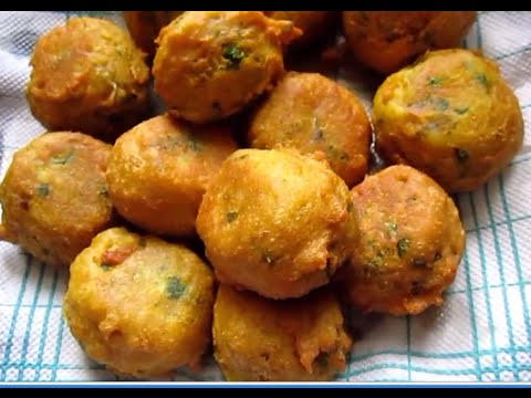 HOW TO MAKE AALOO VADA ( POTATO VADA) ( BATATA VADA)