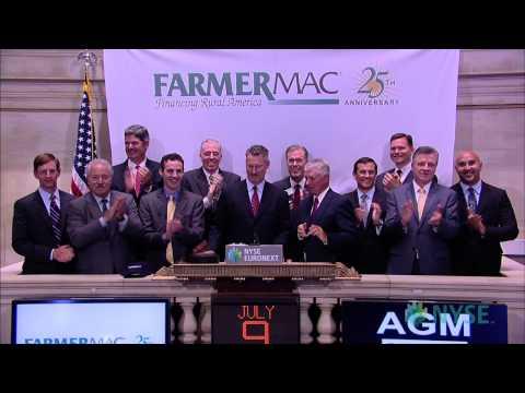 Farmer Mac Celebrates 25th Anniversary