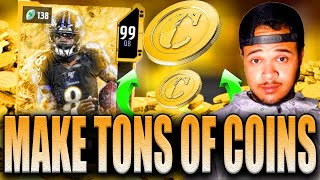 HOW TO MAKE TONS OF COINS WITH UNDER 75K COINS! DO THIS NOW! MADDEN 20 COIN METHOD