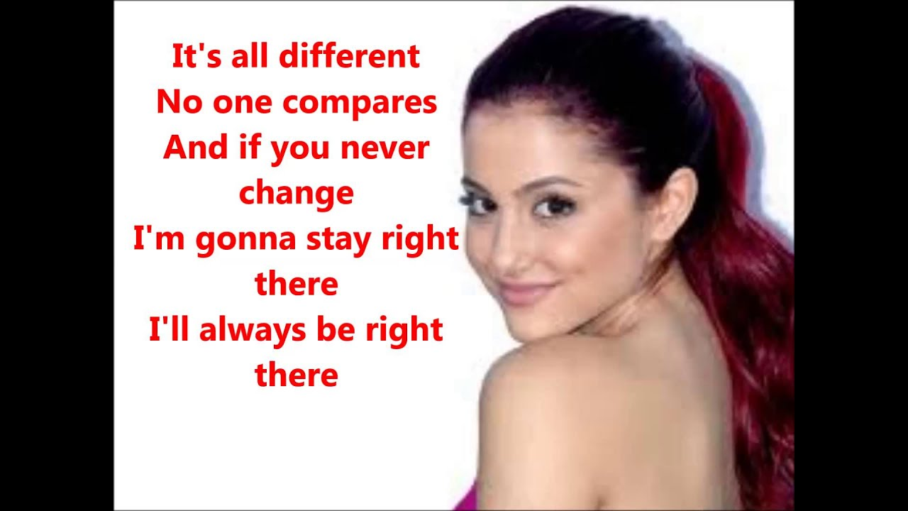 Ariana Grande - Right There (Ft Big Sean) (Lyrics) - YouTube