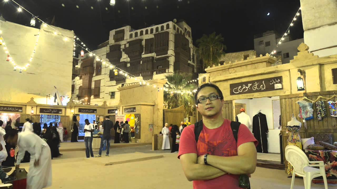 timelapse at al balad jeddah during ramadan festival youtube