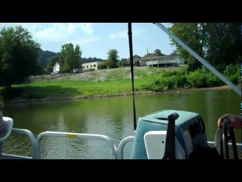 Ohio river  tour in vanceburg, Kentucky