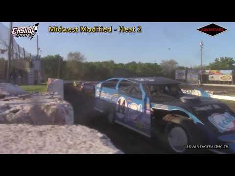 Midwest Modified Heats - Casino Speedway - 6/3/18