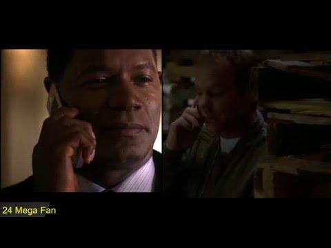 Jack Bauer & President Palmer's Final Conversation - 24 Season 4 Finale