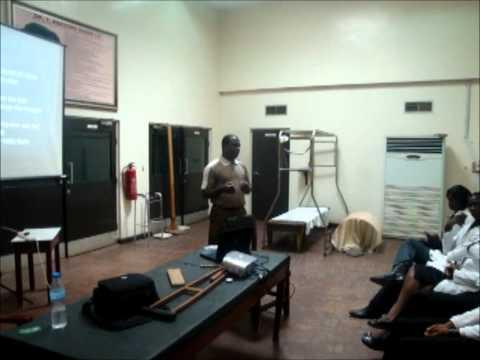 FES presentation at U.C.H Ibadan, Nigeria.
