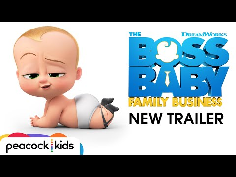 THE BOSS BABY: FAMILY BUSINESS   Official Trailer 2
