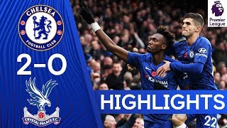 Chelsea 2-0 Crystal Palace  Dynamic Duo Abraham amp Pulisic Strike Again   Highlights