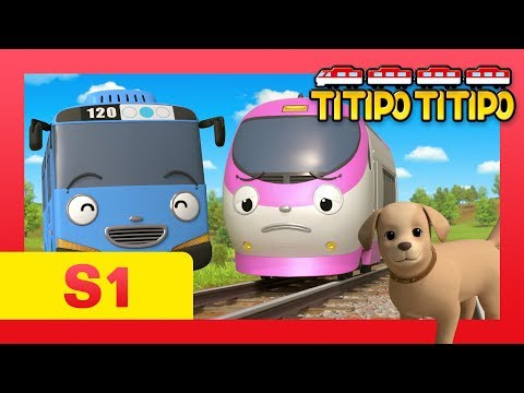 TITIPO S1 EP14 l Genie and Tayo! Save a little puppy! l TITIPO TITIPO