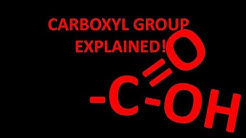 Carboxyl functional group explained! Why is it acidic??