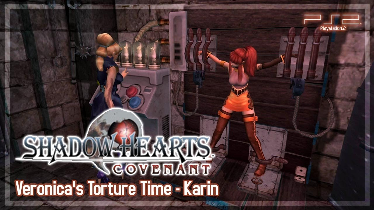 Shadow Hearts Covenant 【PS2】 Veronica's Torture Time - All Karin's Replies (#28) #1