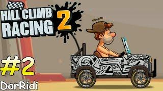 Hill Climb 2 - car 2, игра про машинки 2 серия