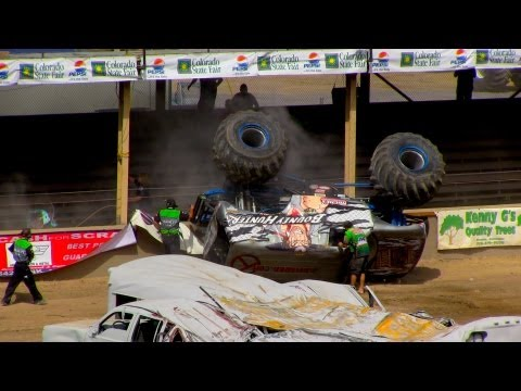 Monster Truck Crashes 2013 Colorado State Fair