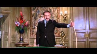Inspector Clouseau plays billiards