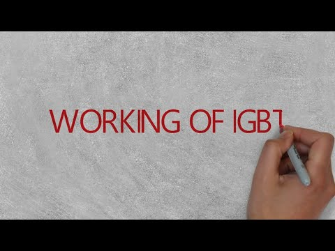 working of igbt || To prepare short notes