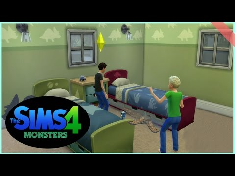 Sims4: Monsters Under The Bed! [4]