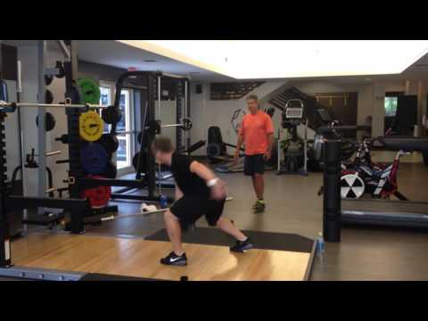 Weightlifting with ViPR - John Sinclair. Video 6