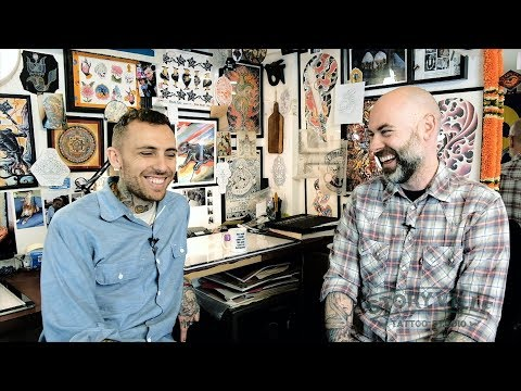 Storyville Tattoo: Stories... Nick Horn chats with Yeshé Konchok of Dharma Tattoo