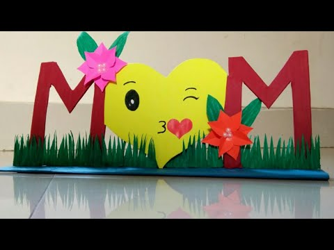 DIY Mother's Day Gift Idea|Mother's Day Room Decor Ideas|Mom Stand|Mothers Day Craft|Cardboard Craft
