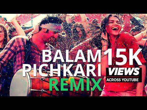 balam-pichkari-|-remix-|-dj-sarfraz-|-yeh-jawaani-hai-deewani-|-ranbir-kapoor,-deepika-padukone