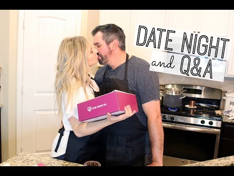 DATE NIGHT AT HOME | ANSWERING YOUR BURNING QUESTIONS
