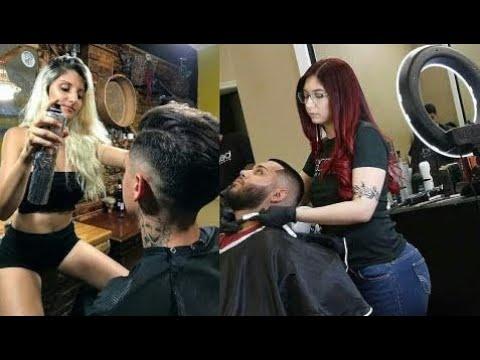 Melhores e Mais Lindas Barber Girls Cortes de Cabelo Masculino 2017/2018 Haircuts Barbeiros | Drygo