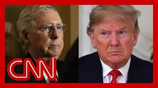 Growing divide between Trump and McConnell over impeachment trial