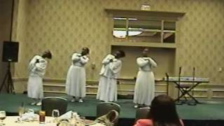 2009 Gospel Mother's Day Gala.. Judah Dance troup..I almost let go..