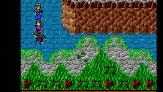 AMIGA LEGENDS OF TRITEN RPG GAME DEMO PREVIEW AMOS PRO AMOS TURBO