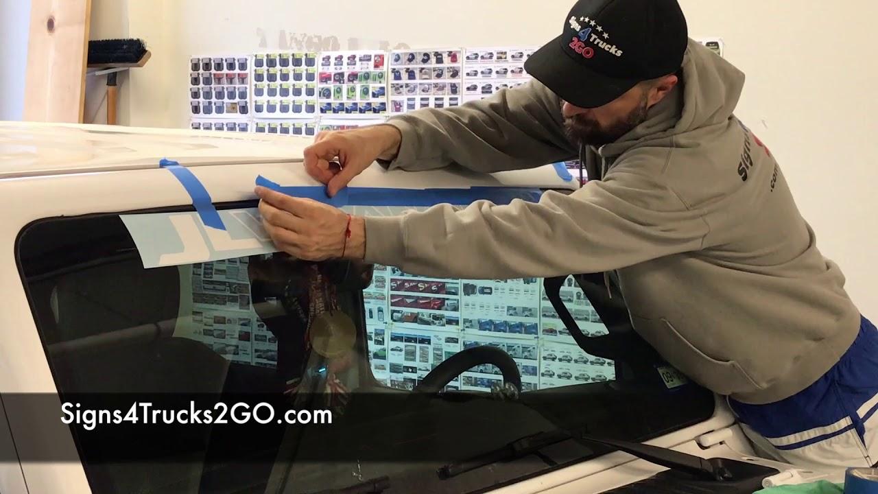 Jurassic Park Emblem LARGE Door Vinyl Decal sticker Kit Jeep Rubicon  wrangler