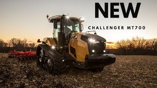 All New 2018 Challenger MT700 Tractor
