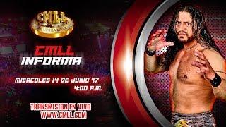 CMLL INFORMA 14 DE JUNIO DEL 2017