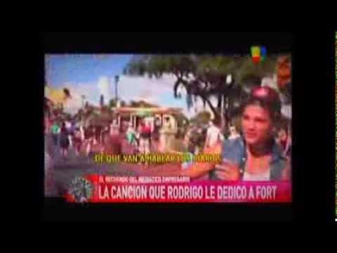"""Rodrigo Diaz  """"A Ricardo Fort"""" nuevo tema 2013"""