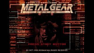 Metal Gear Solid - ePSXe 2 0 5 | PS1 Emulator Gameplay | HD 1080p 60ᶠᵖˢ