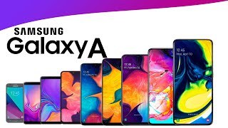 Evolution of Samsung Galaxy A Series!
