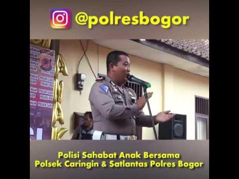 Polisi Sahabat Anak Sat Lantas Polres Bogor