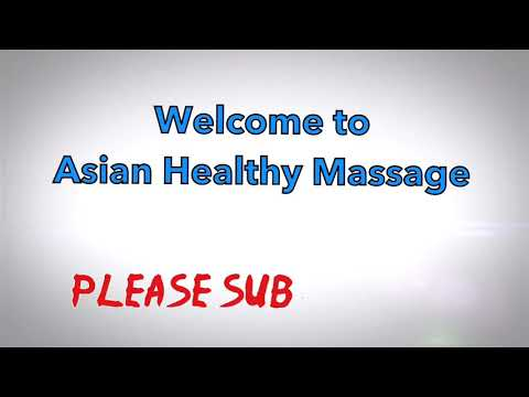 Asian Old Traditional Massage- Therapy Technique To Release Stress , Pain And Body Relaxation