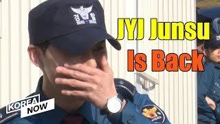 JYJ Xia Junsu is back from military service